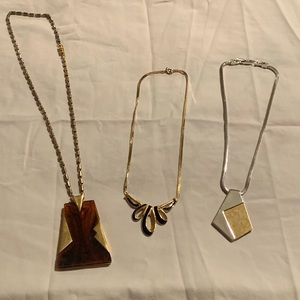3 necklaces bundle